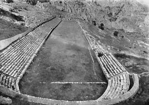 Greece Delphi Stadion Klassisch, Stadium Ruins
