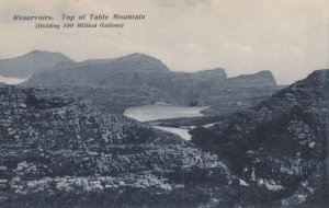Reservoirs , Top of Table Mountain, South Africa, 00-10s