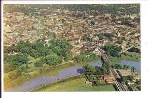 Labatt Street Downtown London, Ontario, Nelson Aerial, Used 1961 Local Cancel...