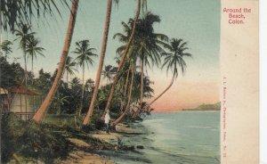 COLON , Panama , 1901-07 ; Around the Beach