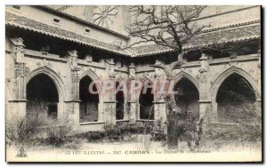 Old Postcard Lot Cahors Illustrates The Cloisters of the Cathedral