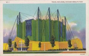 Illinois Chicago 1933 World Fair Travel Building
