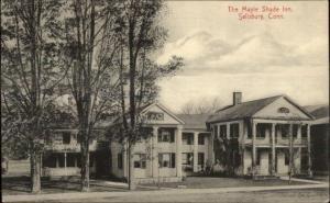Salisbury CT Maple Shade Inn c1910 Postcard