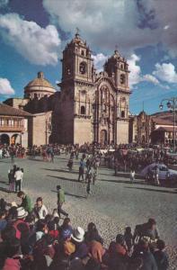 Jesuit Church , CUSCO , Peru , 50-60s