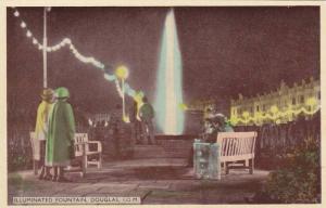 Illuminated Fountain , DOUGLAS , I.O.M. , 1910s