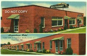 Hagerstown Motel, Hagerstown Md