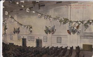 Decorations In Educational Hall, N. C. R., DAYTON, Ohio, PU-1918