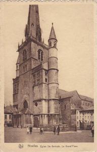 Eglise Ste. Gertrude, La Grand´Place, Nivelles (Walloon Brabant), Belgium, P...