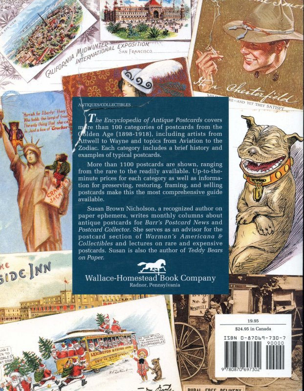 Book: The Encyclopedia of Antique Postcards