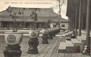CPA Vietnam Indochine ANNAM  Hué - Salon du Roi (Façade extérieure) (62680)