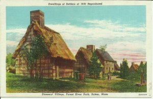 Pioneers' Village, Forest River Park, Salem, Mass.