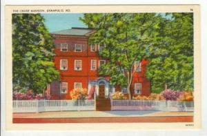 The Chase Mansion,Annapolis, Maryland, 40-60s
