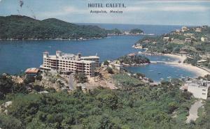 Aerial view,  Hotel Caleta,  Acapulco,  Mexico,    PU_40-60s