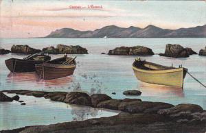 CANNES, L'Esterel, Row Boats, France, 00-10s