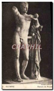 Postcard Ancient Olympia Hermes of Praxiteles