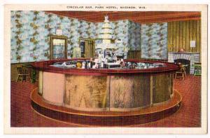 Circular Bar, Park Hotel, Madison Wis