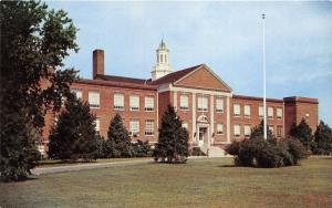 Dover Delaware~Dover High School Building~1950s Tingle Printing Co Postcard