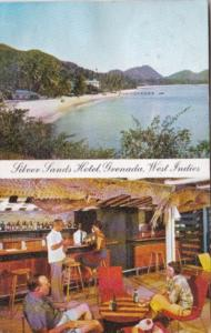 Grenada Silver Sands Hotel Showing Grand Anse Beach & Cocktail Lounge 1960
