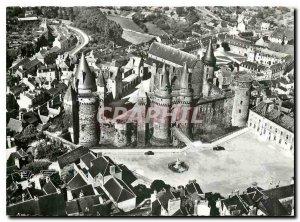 Postcard Modern glass I and V feudal Chateau