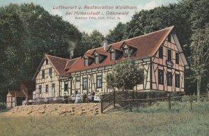 Luftkurort u. Restauration Waldhorn bei Michelstadt i. Odenwald , Germany; 00...
