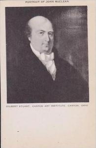 Ohio Canton Art Institute Portrait Of John McClean Gilbert Staurt-Artvue