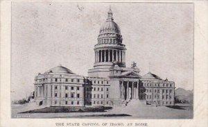 The State Capitol Of Idaho At Boise Idaho 1919