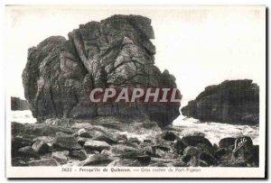 Postcard Old Presqu island of Quiberon Big Rock Port Pigeon