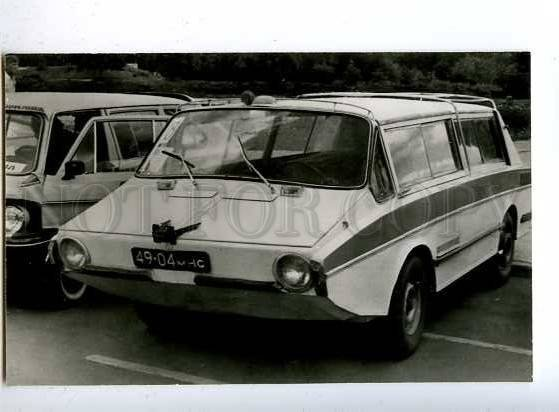 181909 Soviet Car Amphibious Ihtiandr old postcard
