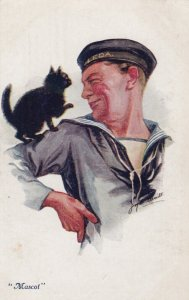 Sailor & Black Cat , MASCOT , 00-10s