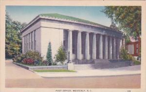Rhode Island Westerly Post Office
