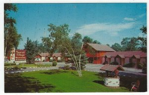 Milford, Pennsylvania, Vintage Postcard View of Tourist Village Motel