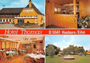 Hotel Thomas Hasborn Eifel Pension Gasthaus Park Fountain Terrace