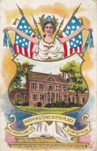 Woodlawn Mansion, Washington's Birthplace, West Moreland County, Virginia, 1909
