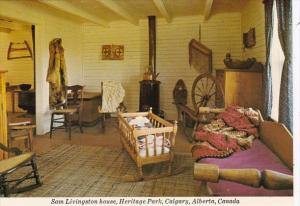 Canada Calgary Sam Livingston House Heritage Park