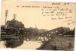 CPA  Nos Regions Devastees -Auby(Nord) -Le Pont  (204829)