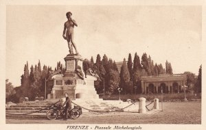 RP; FIRENZE, Toscana, Italy, 1930-1950s; Piazzale Michelangiolo
