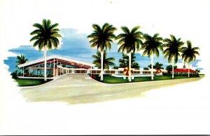 Florida Fort Myers Driftwood Motor Lodge & Howard Johnson's Restaurant