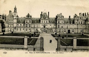France - Fontainebleau. The Palace & Court of Farewell