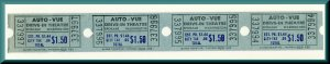 Four Auto-Vue Drive-In Movie Theatre Tickets, Spokane, Washington/WA