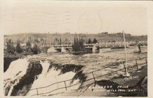 RP: FORT WILLIAM , Ontario ,1947 ; Kakabeka Falls