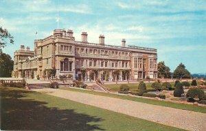Postcard UK England Northampton, Northamptonshire castle Ashby