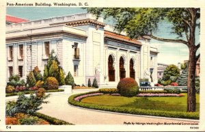 Washington D C The Pan-American Building 1958