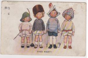 EYES RIGHT - CHILDREN