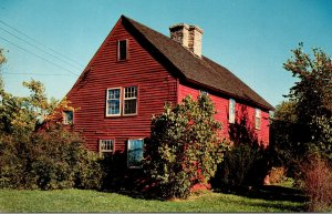 Connecticut Guilford The Acadian House Built 1670 By Joseph Clay