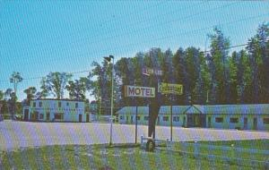 Canada Lor-Lee Motel and Texaco Gas Station Barrie Ontario