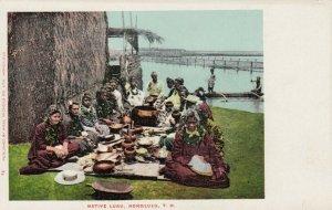 HONOLULU , Hawaii , 1901-07 ; Native Luau