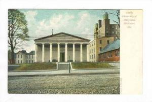 University Of Maryland,Baltimore,Maryland,1900-10s