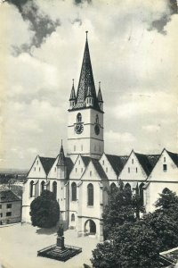 Postcard Sibiu Evangelical Cathedral picture