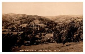 Aerial View of Strafford Vermont ,  RPC
