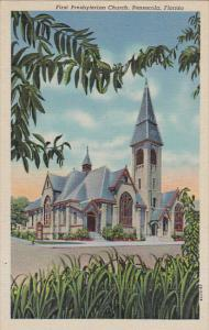 First Presbyterianst Church Pensacola Florida Curteich